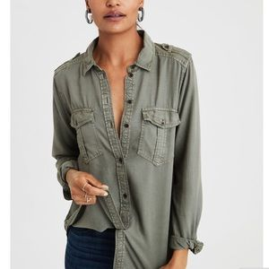Military Button-down